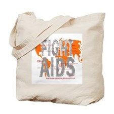 AIDS Awareness  Tote Bag