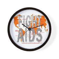 AIDS Awareness  Wall Clock