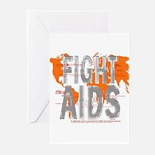 AIDS Awareness  Greeting Cards (Pk of 10)