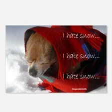 Timmy Doesn't Like Snow Postcards (Package of 8)