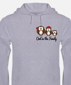 Owl in the Family Jumper Hoody