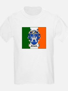 Kelly Arms Irish Flag Kids T-Shirt