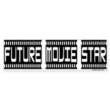 Future Movie Star Bumper Bumper Sticker