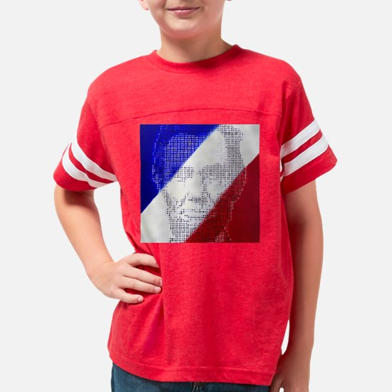 abeofdotssquare Youth Football Shirt