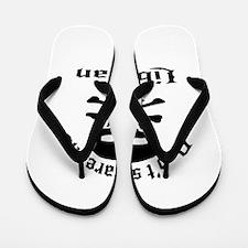 Do Not Scare Me I Am Liberian Flip Flops