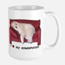 Great Pyrenees Couchpotato<br>Mug