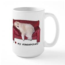 Great Pyrenees Couchpotato<br>Mug