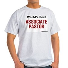 World's Best Associate Pastor Ash Grey T-Shirt