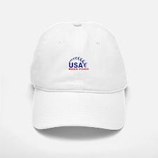 USA Beer Pong Baseball Baseball Cap