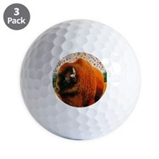 Buffalo King Golf Ball