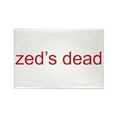 zed's dead : pulp fiction Rectangle Magnet (10 pac