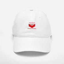 Indiana Beer Pong Baseball Baseball Cap
