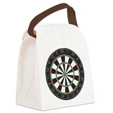 Competition Dart Board Canvas Lunch Bag