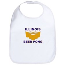 Illinois Beer Pong Bib