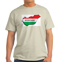 Hungary Ash Grey T-Shirt