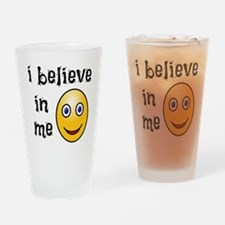 I Believe in Me Drinking Glass