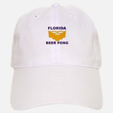Florida Beer Pong Baseball Baseball Cap