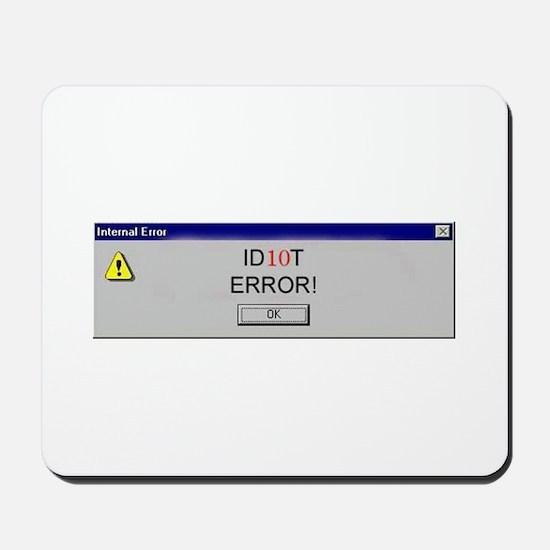 Human Error Mousepad