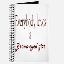 brown eyed girl Journal