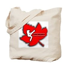 Canadian Girls Kick Ass Maple Tote Bag