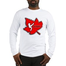 Canadian Girls Kick Ass Maple Long Sleeve T-Shirt