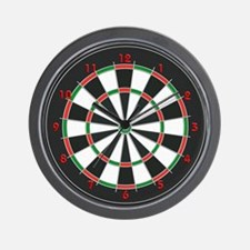 Competition Dart Board Wall Clock
