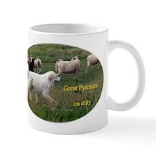 Great Pyrenees on Duty<br>Small Mug