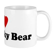I Love My Blinky Bear Mug