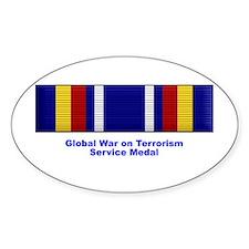 Global War on Terrorism Service Medal Decal