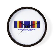 Global War on Terrorism Service Medal Wall Clock