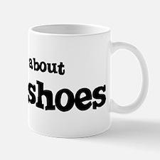 All about Horseshoes Mug