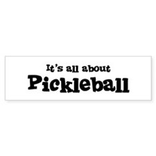 All about Pickleball Bumper Stickers