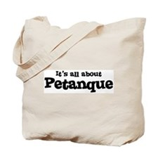 All about Petanque Tote Bag