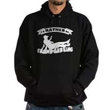 Id RATHER be Crowd Surfing (male) Hoody