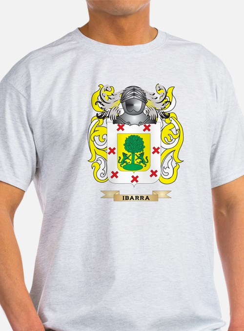 Ibarra Coat of Arms (Family Crest) T-Shirt