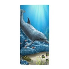 The World Of The Dolphin Beach Towel