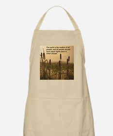 Chief Joseph Earth Quote BBQ Apron