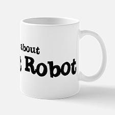 All about Combat Robot Mug