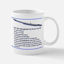 Flute Top 10 Mug