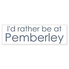 Pemberley Bumper Bumper Sticker