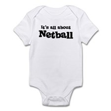 All about Netball Infant Bodysuit