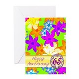 65th anniversary Greeting Cards