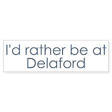 Delaford Bumper Car Sticker