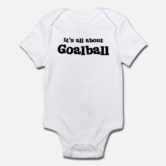 All about Goalball Infant Bodysuit