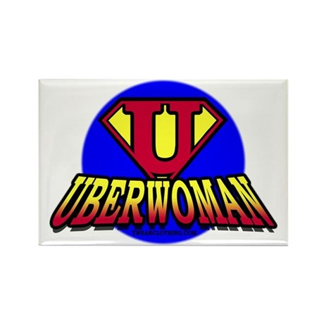 UberWoman Rectangle Magnet