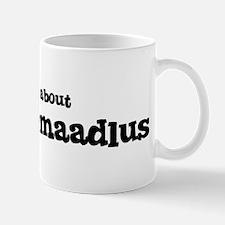 All about Mustlasemaadlus Mug