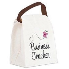 Business Teacher Canvas Lunch Bag