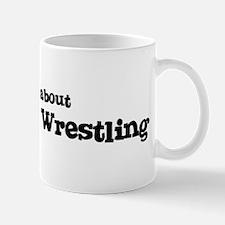 All about Mongolian Wrestling Mug