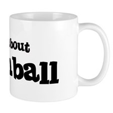 All about Broomball Mug