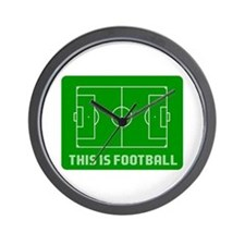 THIS IS FOOTBALL Wall Clock